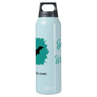 Spoonie Krieger (klares) 0.5L heiße u. kalte Isolierte Flasche