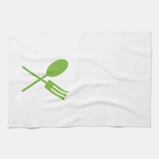 Spork Geschirrtuch-Grün Geschirrtuch