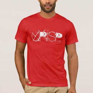 Sport-Abnutzungs-grafisches KLARES T-Stück M vier T-Shirt