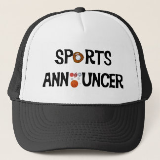 Sport-Ansager-Hut Truckerkappe