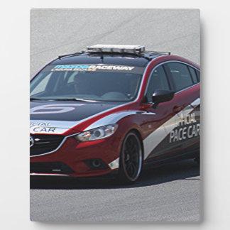 Sport-Auto-Auto-Laufen Fotoplatte