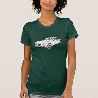 Sport-Auto-Illustration MGs konvertierbare T-Shirt