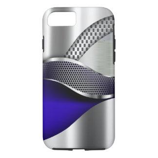 Sport-Auto-metallisches silbernes Maschenblau iPhone 8/7 Hülle