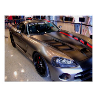 Sport-Auto-Plakat-Foto der Dodge-Viper-2008 amerik