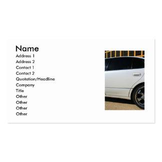 Sport-Auto-Visitenkarte Visitenkarten