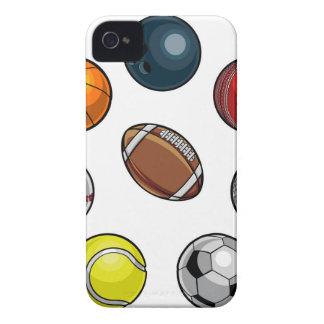 Sport-Ball-Set iPhone 4 Case-Mate Hüllen