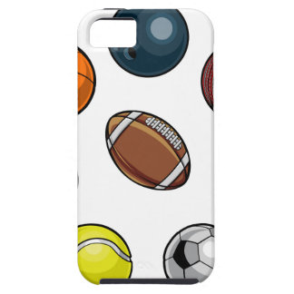Sport-Ball-Set iPhone 5 Hüllen