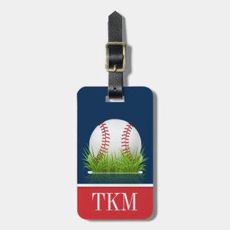 Sport - Baseball Kofferanhänger
