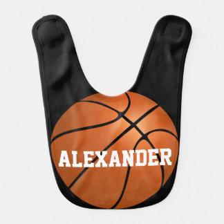 Sport-Basketball-personalisierten Lätzchen