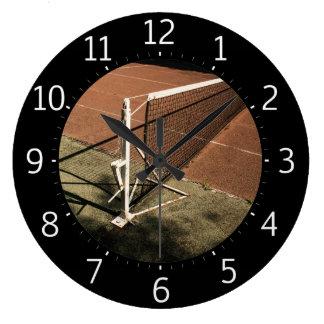 Sport-coole Geschenke der Tennis-Zeit-| Große Wanduhr