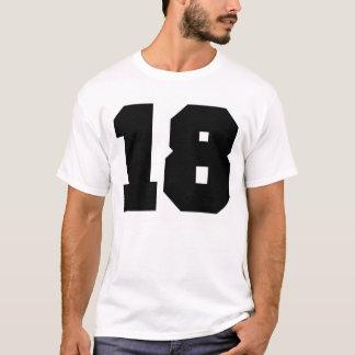Sport der Nr.-18 T-Shirt