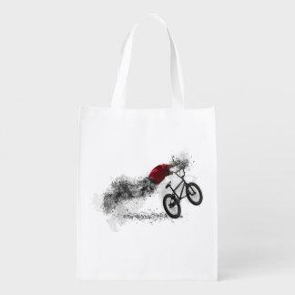 Sport-Fahrrad-Hobby Wiederverwendbare Einkaufstasche