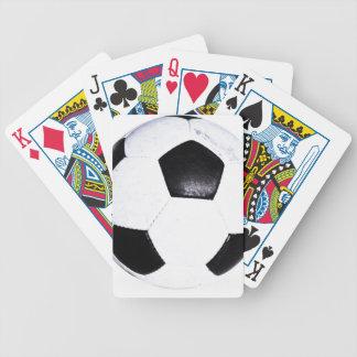 Sport-Fußball-Kreis-Jugend-Energie-Inspiration MA Bicycle Spielkarten