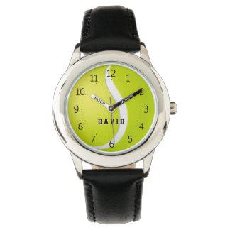 Sport-Geschenke der Tennis-Zeit-  Personalizable Armbanduhr