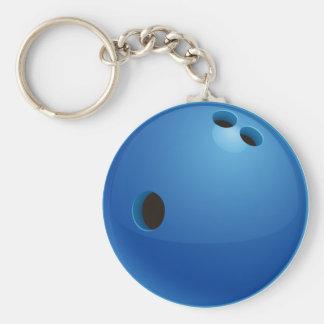 Sport-Geschenke des Bowlings-  Standard Runder Schlüsselanhänger