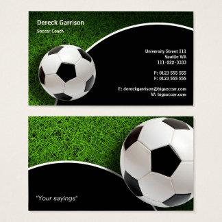 Sport-Geschenke des Fußball-Zug-| Visitenkarte