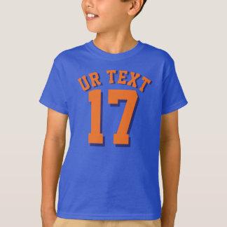Sport-Jersey-Entwurf der Königsblau-u. T-Shirt