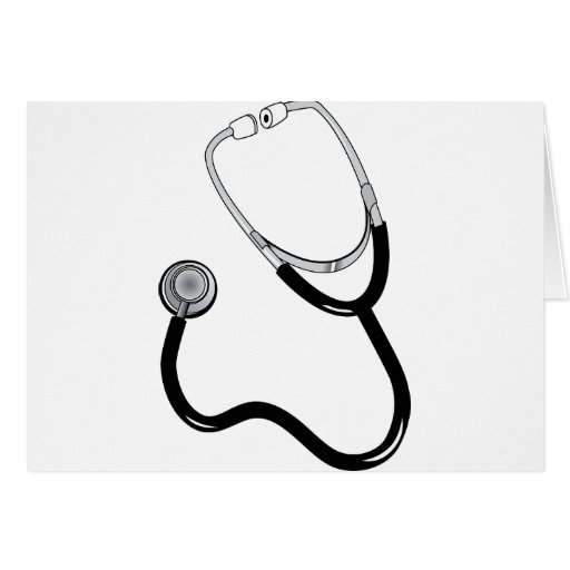 Sport-Medizin-FriedensLiebe-Schicksal Doktor-Nurse Grußkarte