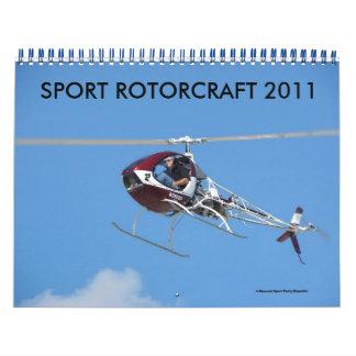 SPORT ROTORCRAFT 2011 WANDKALENDER