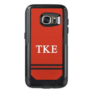 Sport-Streifen des Tau-Kappa-Epsilon-  OtterBox Samsung Galaxy S7 Hülle