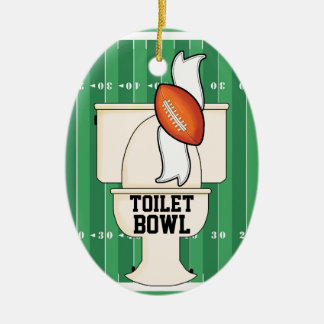 Sport - Toilette SCHÜSSEL Keramik Ornament