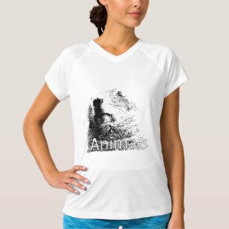 sport Unterhemd für Damen mit Hals V Animals