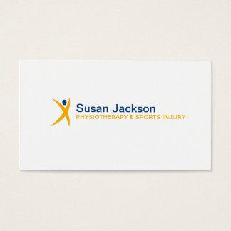 Sport-Verletzungs-Visitenkarte Visitenkarten