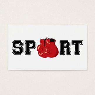 Sport (Verpacken) Visitenkarte