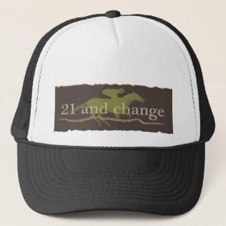 Sport von Königen 21 und change.ai Truckerkappe