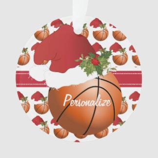 Sport-Weihnachtsbasketball Ornament