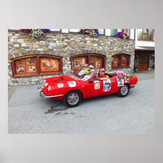 Sportauto in Seefeld in Tirol Poster