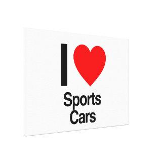 Sportautos der Liebe I Gespannte Galeriedrucke