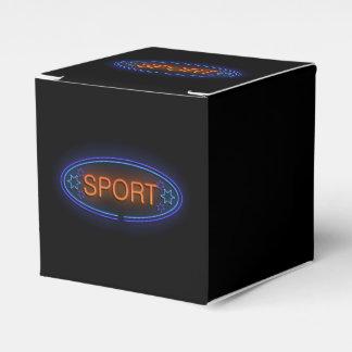 Sportkonzept Geschenkschachtel