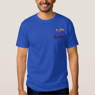 Sportlehrer Besticktes T-Shirt