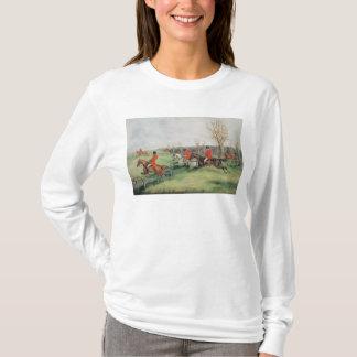Sportliche Szene, 19. Jahrhundert T-Shirt