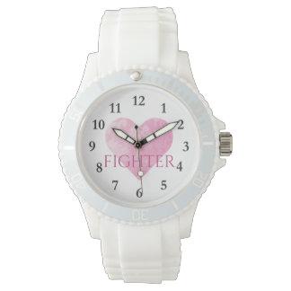 Sportliche weiße Silikon-Uhr, Kämpfer Uhr