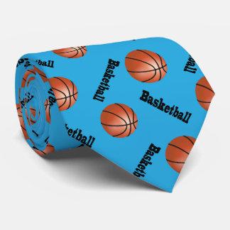 Sportlicher Basketball des Baby-Blau-Hintergrund-  Krawatten