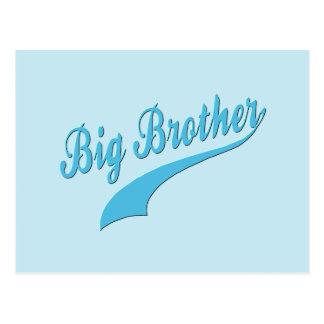 Sportlicher großer Bruder Postkarte