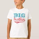 Sportlicher großer Bruder-T - Shirt