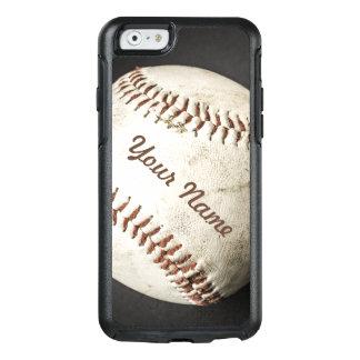 Sportlicher Vintager Baseball-Telefon-Kasten mit OtterBox iPhone 6/6s Hülle