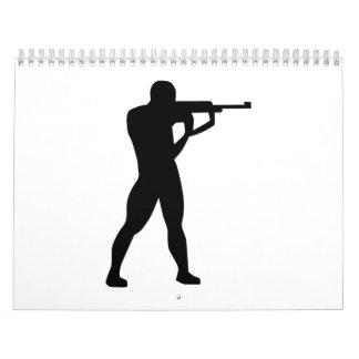 Sportschießen Wandkalender