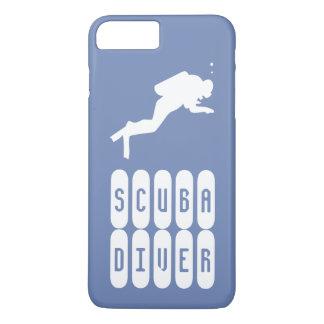 Sporttaucher. Ein Fall für Taucher iPhone 8 Plus/7 Plus Hülle