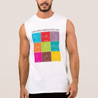 Sporttaucher Identifikation Ärmelloses Shirt