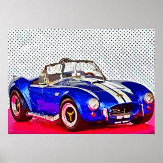 Sportwagen - Photoworks Jean-Louis Glineur Poster