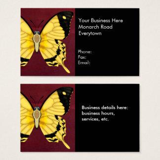 Spötter-Frack-Schmetterling Visitenkarte