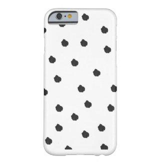 Spottie punktiert schwarze barely there iPhone 6 hülle