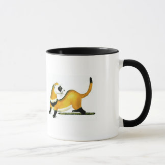 spöttisches Frettchen Tasse
