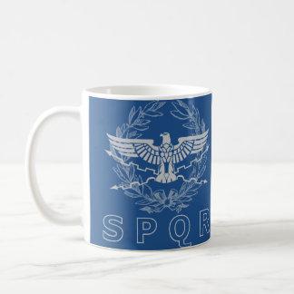 SPQR die römisches Reich-Emblem-Tasse Kaffeetasse