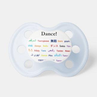 Sprache des Tanzes!  Wörter für Tanz weltweit Schnuller