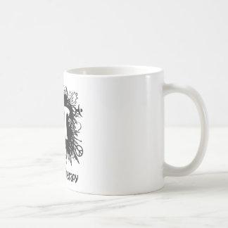 Sprachtherapie-Spritzen-Entwurf Kaffeetasse
